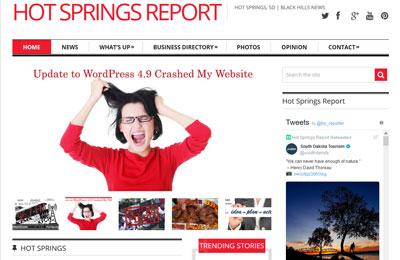 Hot Springs Report