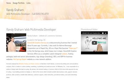 Randy Graham Web Multimedia Developer